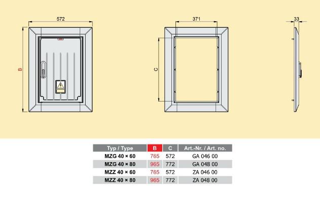 Medium Meter Box Cover Emiter