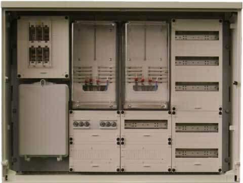3 phase meter box