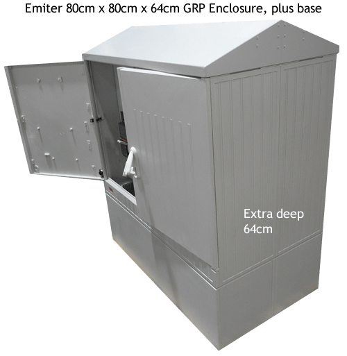 Extra Deep Emiter Enclosure with Base