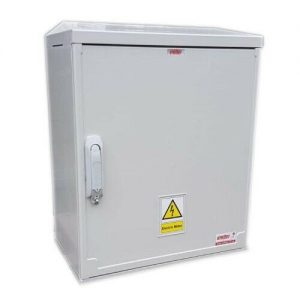 Electric Meter Box 530x600x320mm Surface Mounted Left Front View
