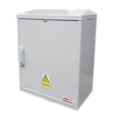 Electric Meter Box 530x600x320mm Surface Mounted Right Front View