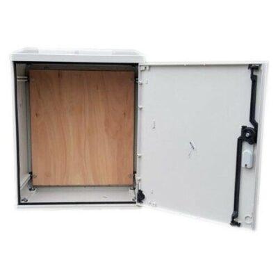 Electric Meter Box 530x600x320mm Surface Mounted Inside Open Door