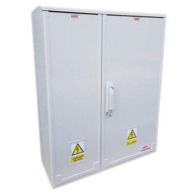 GRP Electric Enclosure, Kiosk, Cabinet, Meter Box, Housing (W660 x H800 x D245mm) Left Side View
