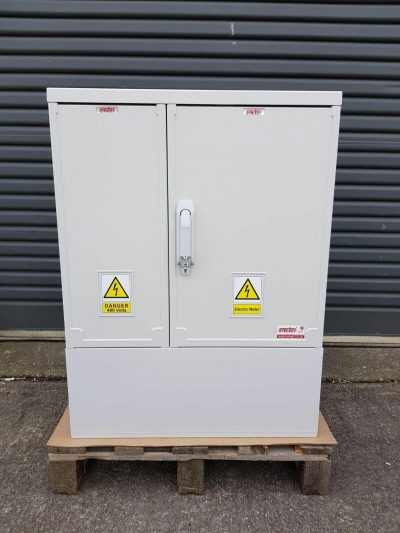 GRP Electric Meter Box W660 x H910 x D320 mm Front View